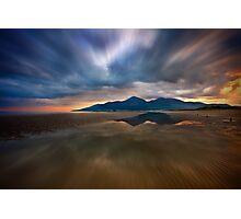 Murlough Bay Sunset Photographic Print