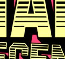 Mad Decent | Logo | Red/Yellow Sticker