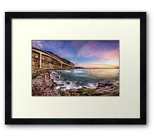 Sea Cliff Bridge at Dawn Framed Print