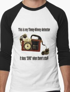 Timey-Wimey Detector Men's Baseball ¾ T-Shirt