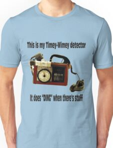 Timey-Wimey Detector Unisex T-Shirt