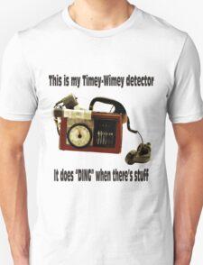 Timey-Wimey Detector T-Shirt