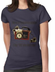 Timey-Wimey Detector Womens Fitted T-Shirt