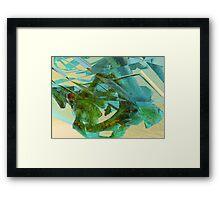 3d Fractal Framed Print
