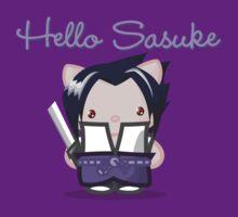 Hello Sasuke by tibrado