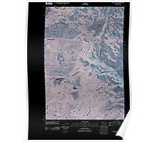 USGS Topo Map Washington State WA Camas Patch 20110502 TM Inverted Poster