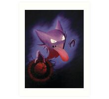 Pokemon - Haunter used Shadowball! Art Print