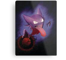 Pokemon - Haunter used Shadowball! Metal Print