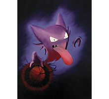 Pokemon - Haunter used Shadowball! Photographic Print