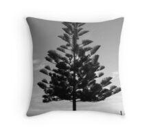 Norfolk Island Pine, Fremantle, Australia Throw Pillow