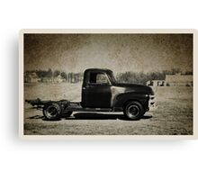 1955 Chevy Advance Design Pickup Truck Canvas Print