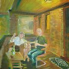 """No. 100 of 100 Salt Lake City Porches- """"Toast of the Project"""" by Jeanne Allgood"""