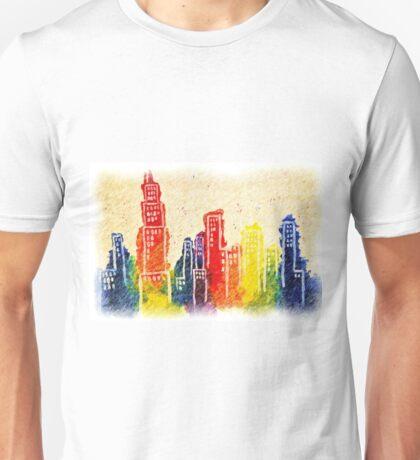 Autumn Cityscape Unisex T-Shirt