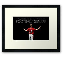 Football Genius Framed Print