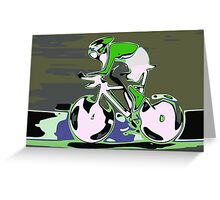 Cyclist 1 Greeting Card