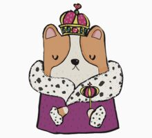 Queen Corgi Kids Clothes