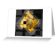 Black Gold... Greeting Card