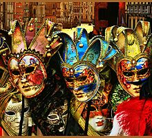 Venice and Masks by aroundtheworld