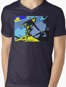 Surfer Mens V-Neck T-Shirt