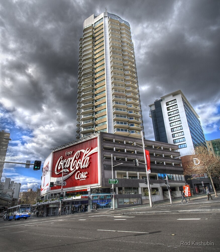 Coke at Zenith Apartments by Rod Kashubin
