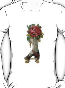 Steampunk Roller Skate Boot T-Shirt