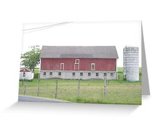 The Red Barn  Greeting Card