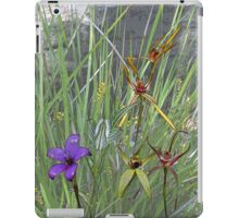 Margaret River Orchids with Grasses iPad Case/Skin