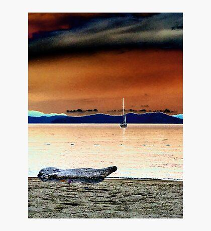 Sail boat. Photographic Print