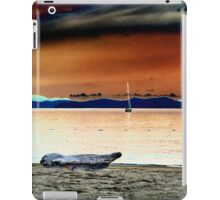 Sail boat. iPad Case/Skin