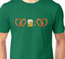Pretzel Dog & Beer Unisex T-Shirt