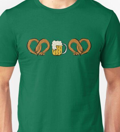 Pretzel Dog & Beer Unisex T-Shirt