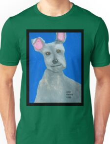 The Oil Pastel Scotty Dog by Julia Hanna Unisex T-Shirt