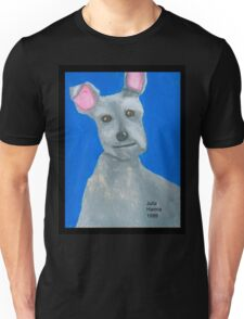 The Oil Pastel Scotty Dog by Julia Hanna Unisex T-Shirt