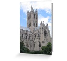 National Cathedral, DC Greeting Card