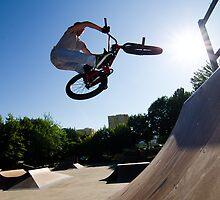 BMX Bike Stunt bar spin by homydesign