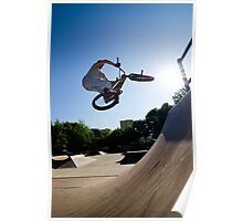 BMX Bike Stunt bar spin Poster