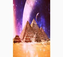 Space Pyramids Unisex T-Shirt