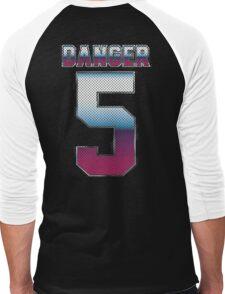 (5) Danger Men's Baseball ¾ T-Shirt