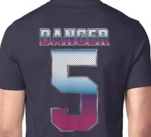 (5) Danger Unisex T-Shirt