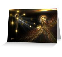 The Light That Guides Us Home Greeting Card