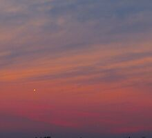 When you wish upon a star on a pastel night by MarianBendeth