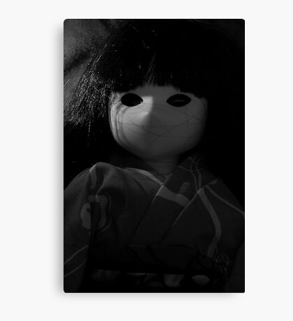 Dark doll Canvas Print