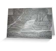 Empty Places Greeting Card