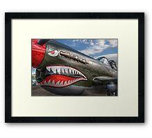 Curtiss P-40 Kittyhawk Framed Print