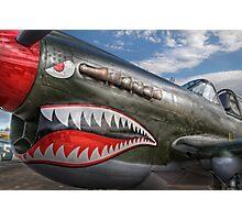 Curtiss P-40 Kittyhawk Photographic Print