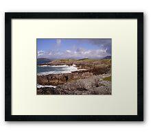 The Foaming Deep - Hebridean Seascape Framed Print