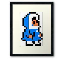 Popo Ice Climber Framed Print