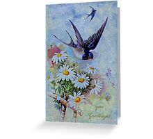 Bringing You Greetings! Greeting Card