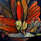 Abstract Fruit by Angela Gannicott