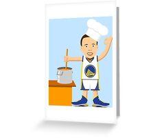 Chef Curry Widda Pot Boi! Greeting Card